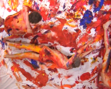 Action Painting video-performance